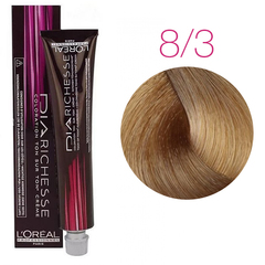 L'Oreal Professionnel Dia Richesse 8.3 (Светлый блондин золотистый) - Краска для волос