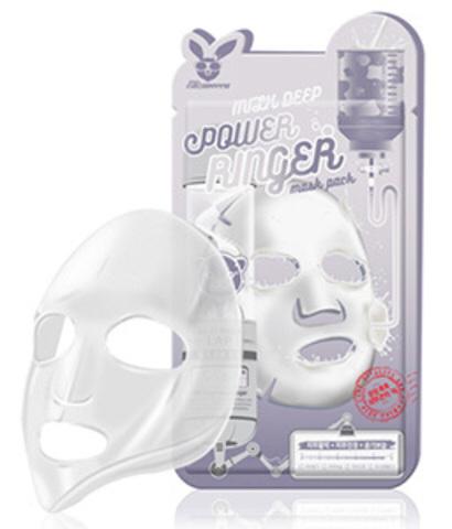 Elizavecca Тканевая маска для лица с Молоком Milk Deep Power Ringer mask, 23 мл