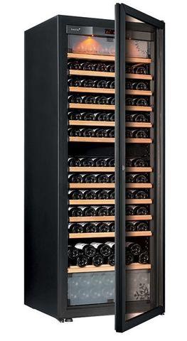 Винный шкаф EuroCave E-Pure-L стеклянная дверь в раме, цвет чёрный, максимальная комплектация