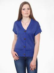 Ж1671-2 кофта женская синяя
