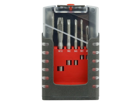 Набор метчиков машинных Bucovice Typ E DIN371/376 2N HSS М3-М12 105001 - стружколом