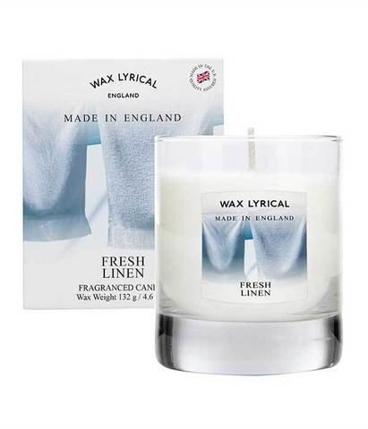 Свеча в стекле Лен, Wax Lyrical