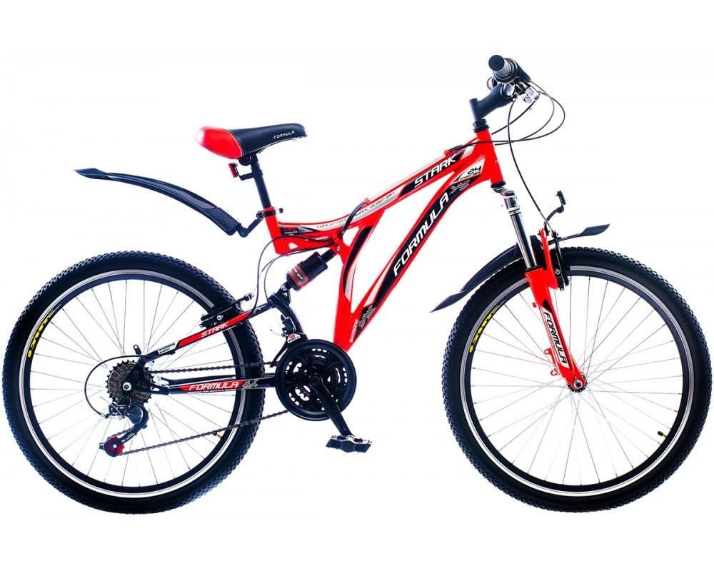 Горный универсальный подростковый велосипед Formula Stark 2015 - красно-черный