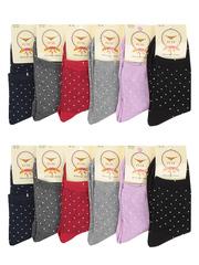 NO503 носки женские цветные 37-41 (12шт)