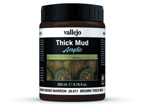 Diorama Effects Brown Thick Mud 200 ml.