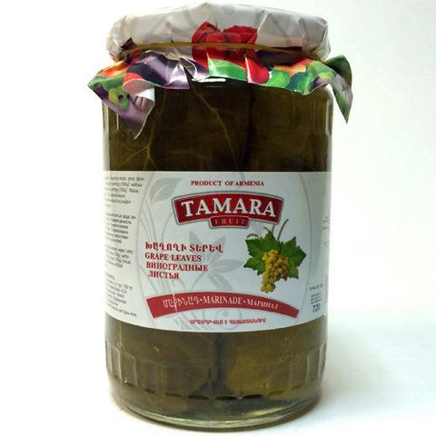 Листья виноградные Tamara, 520г