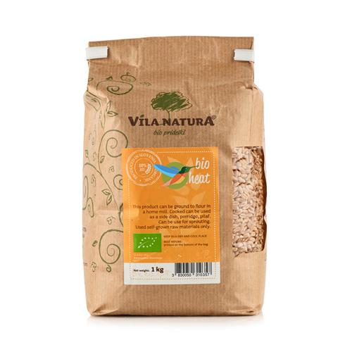 Пшеница БИО 1 кг (Vila Natura)