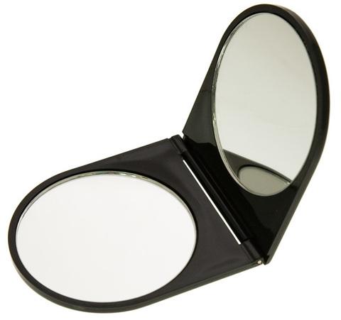 Зеркало карманное двойное в блистере