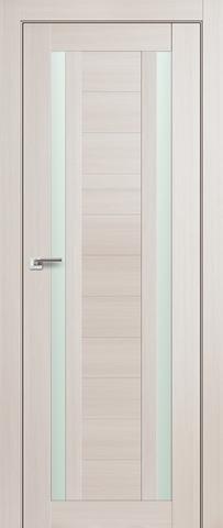 Дверь Profil Doors №15Х, стекло матовое, цвет эш вайт мелинга, остекленная