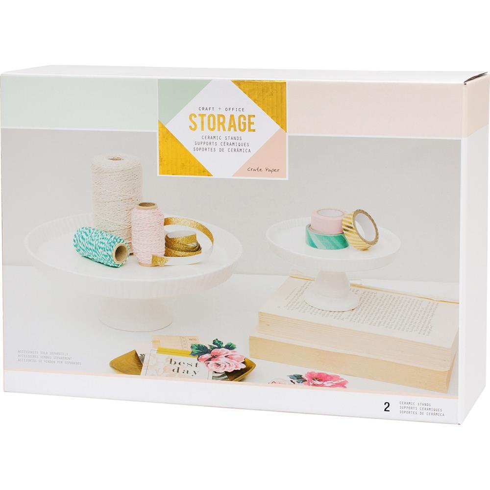 Керамическая настольная подставка  -Desktop Storage Ceramic Stands -2шт