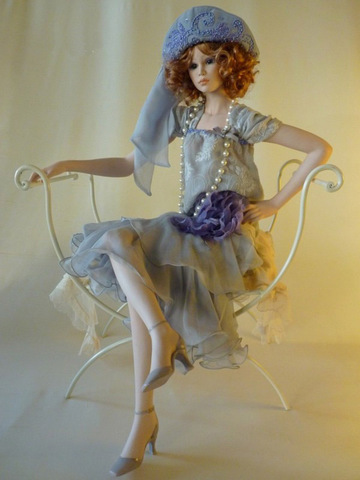 Кукла фарфоровая коллекционная Marigio Виктория