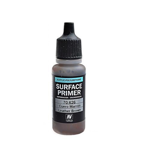 70626 Surface Primer акриловый полиуретановый грунт, Кожаный (Leather), 17 мл Acrylicos Vallejo