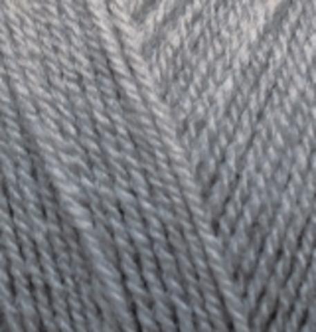 Пряжа Superlana TIG цвет 87 угольно серый Alize