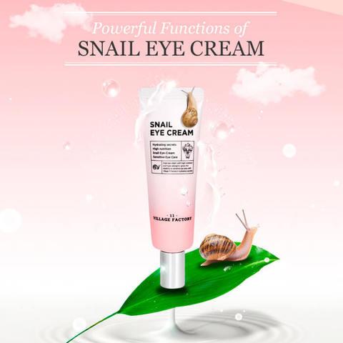 Улиточный крем для кожи вокруг глаз, 25 мл / Village 11 Factory Snail Eye Cream