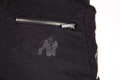 Брюки Gorilla wear Alabama Drop Crotch Joggers Black