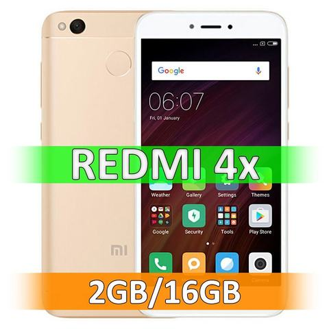 Смартфон Xiaomi Redmi 4X (2-16Gb) Gold