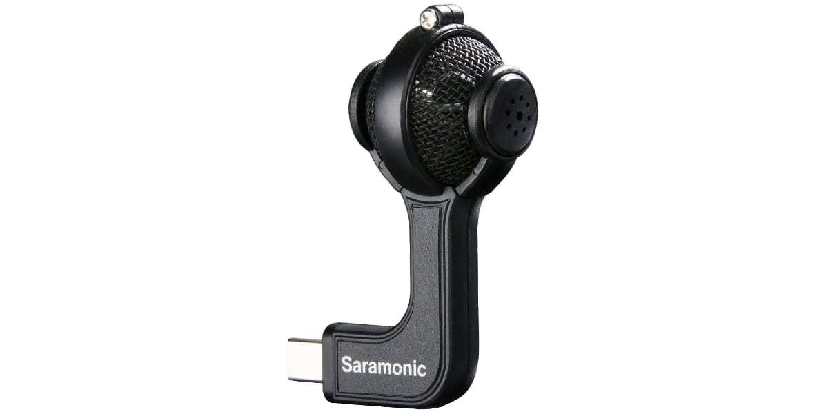 Стереомикрофон Saramonic G-Mic Kit для камер GoPro вид сбоку