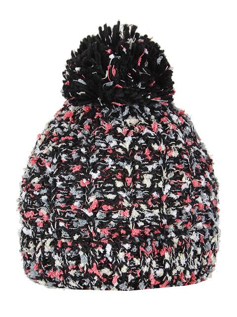 HT1815-2 шапка женская, черно-белая