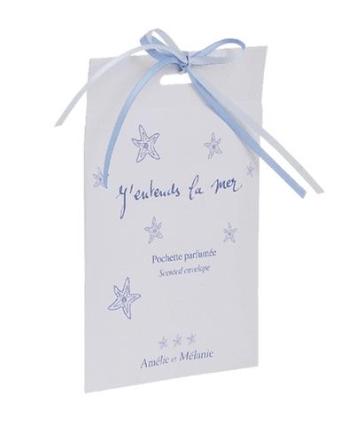 Саше в конвертике ароматизированное Слышу море, Amelie et Melanie