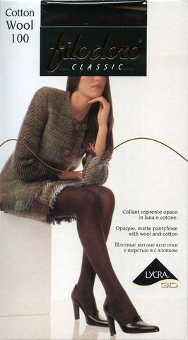 Колготки Cotton Wool 100 Filodoro