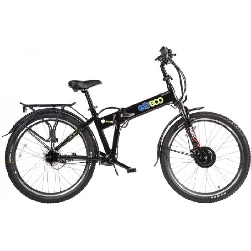 Велогибрид Eltreco PATROL КАРДАН 26 черный - Велогибриды, артикул: 780630