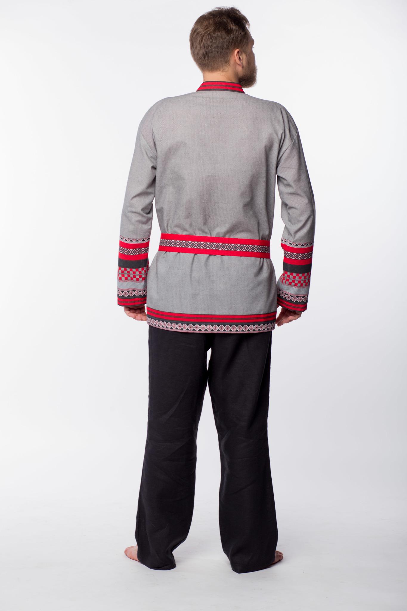 Мужская рубаха Чалдоны вид сзади