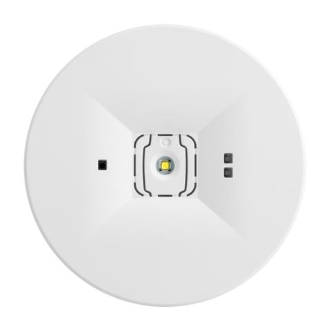 Встраиваемый светильник аварийного освещения ONTEC C M1U 301 NM ST – вид спереди