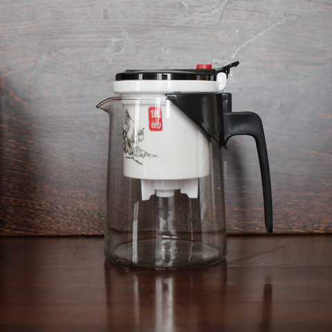 Экспресс-чайник, конус, фаянсовая колба, 500 мл