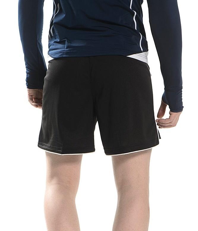 Мужские волейбольные шорты асикс Short Zona (T605Z1 0090) черные фото