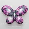 """Бусина Агат """"Крейзи"""" (тониров) в виде бабочки 35х25х6 мм ()"""