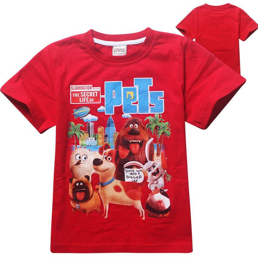 Тайная жизнь Домашних Животных футболка детская
