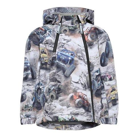 Molo Hopla  весенняя куртка для мальчика Offroad Buggy