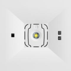 Встраиваемый светильник аварийного освещения ONTEC C M1U 301 NM ST – вид спереди крупным планом