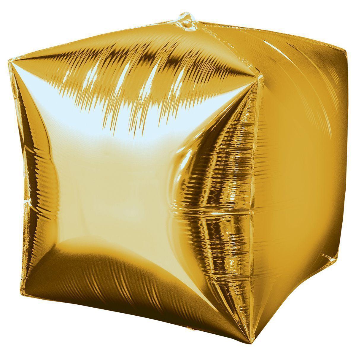 Шары 3D Шар 3D Куб Металлик Gold 1209-0035_m1.jpg