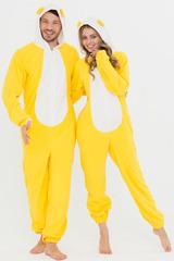 """Пижама с ушками """"Желтая"""""""