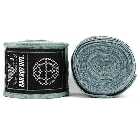 Бинты Bad Boy Combat Premium Hand Wraps Grey 5m