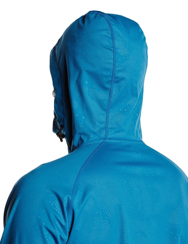 Мужская ветрозащитная куртка асикс FujiTrail SoftShell (124796 8123) синяя