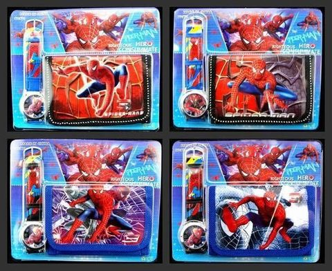 Watches and Purses — Spider Man
