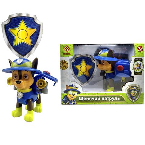 Щенячий патруль в индивидуальной упаковке (1 игрушка в комплекте) Гонщик (Синий) 1кор*1бл*1шт
