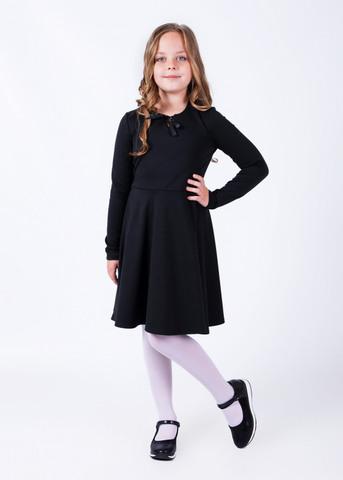 Платье школьное из трикотажа