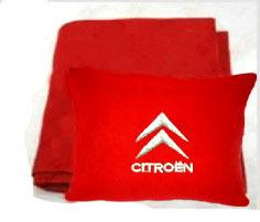 Плед в чехле с логотипом Citroen