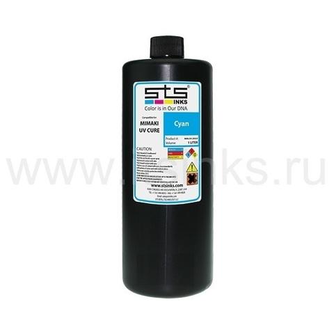 УФ - чернила STS для Roland ECO - UV Cyan 1000 мл