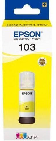Чернила желтые Epson 103Y для L3100, L3110, L3110. 65 мл. (C13T00S44A)