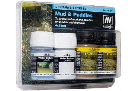 Diorama Effects Mud & Puddles (4) 35ml
