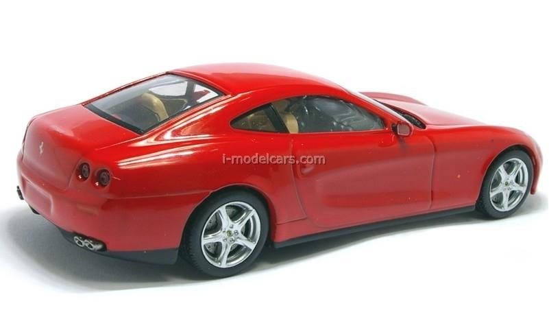 Ferrari 612 Scaglietti red 1:43 Eaglemoss Ferrari Collection #37