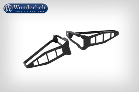 Защита поворотников BMW R1200GS/GSA/S1000XR/RS LC/R LC (комплект 2 шт) - черный