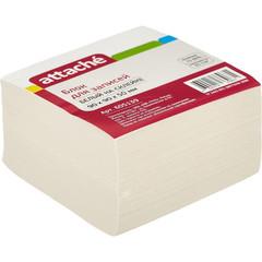 Блок-кубик ATTACHE ЭКОНОМ на склейке 9х9х5 белый