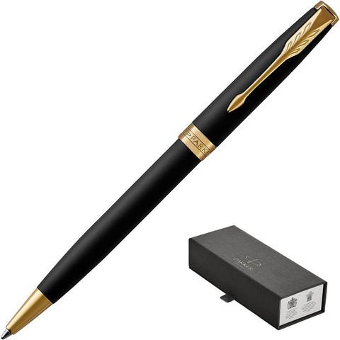 Ручка шариковая PARKER 2017 Sonnet матов.черный 1931519 черная средняя