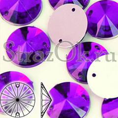 Купите пришивные стразы оптом Rivoli Purple Velvet в интернет-магазине