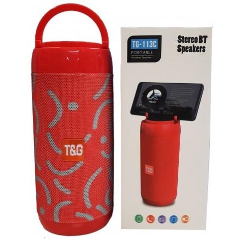 Колонка Bluetooth TG-113C (цвет ассорти)
